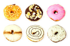 Donuts isolated on white background Stock Image