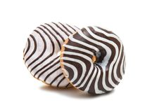 Donuts isolated. On white background Stock Image