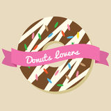 Donuts Lover Stock Images
