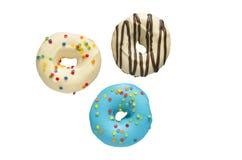 Donuts med glasyr Arkivbilder