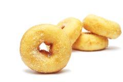 Donuts med socker Fotografering för Bildbyråer