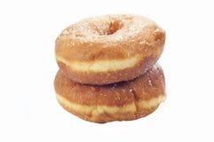 Donuts med socker Arkivfoto