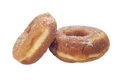 Donuts med socker Arkivfoton