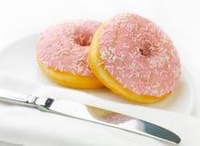 donuts menchii pierścionek obraz royalty free