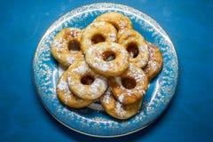 Donuts met een gat Stock Afbeelding