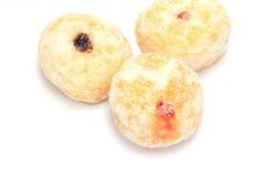 Donuts met Jam royalty-vrije stock afbeelding