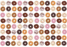 Donuts are the most wonderful sweet you can imagine for a second breakfast. In Poland, the donut has become a symbol of the ending of the carnival and the vector illustration