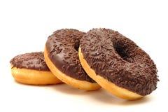 Donuts na białym tle Fotografia Royalty Free