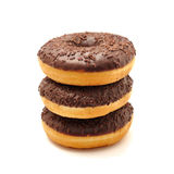Donuts na białym tle Obrazy Stock