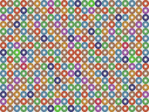 Donuts pattern Stock Photos
