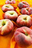 Donuts peaches Stock Photo