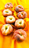 Donuts peaches Royalty Free Stock Photo