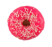 Donuts in a pink glaze Stock Photo