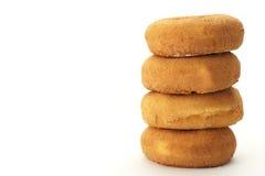 donuts plain Royaltyfri Foto