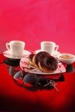 donuts plakata bieg Obraz Stock