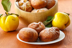 Donuts with quince Stock Images