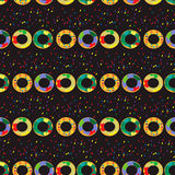 Donuts seamless pattern Royalty Free Stock Images
