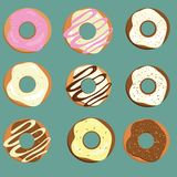 Donuts royalty free illustration