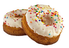 Donuts with sprinkles Stock Image