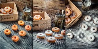 Donuts Story Stock Photos