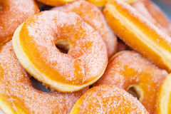 Donuts strewed Stock Photo