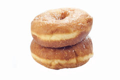 Donuts with sugar Stock Photo