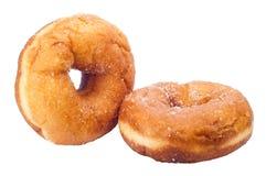 Donuts with sugar Royalty Free Stock Photos