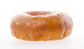 Sugary donut on a background. Donuts, sugary donut on background Stock Photos