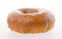 Sugary donut on a background. Donuts, sugary donut on background Royalty Free Stock Image