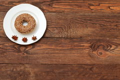 Donuts. Sweet donuts always good to improve the humor Royalty Free Stock Photos