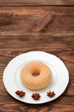 Donuts. Sweet donuts always good to improve the humor Royalty Free Stock Images