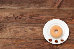 Donuts. Sweet donuts always good to improve the humor Stock Photos