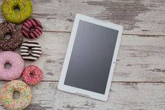 Donuts, sweets stock images