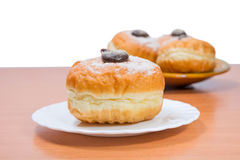 Donuts on a table Royalty Free Stock Images