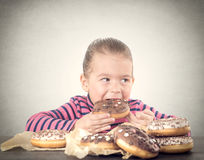 Donuts time Royalty Free Stock Photography