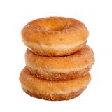 donuts tre Arkivfoto