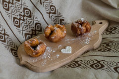donuts tre Royaltyfria Bilder