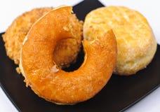 donuts trzy Zdjęcia Royalty Free