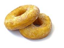 donuts uroczy dwa Obrazy Royalty Free