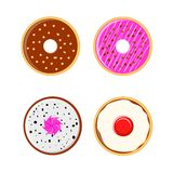 Donuts variant Royalty Free Stock Images