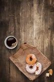 Donuts voor lunch Royalty-vrije Stock Foto's