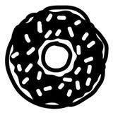 Donuts wektoru eps r?ka rysuj?ca, wektor, Eps, logo, ikona, crafteroks, sylwetki ilustracja dla r??nego u?ywa ilustracja wektor
