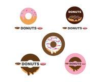 donuts wektory, ikona, logo ilustracja ilustracji