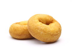 Donuts in a white background Royalty Free Stock Images