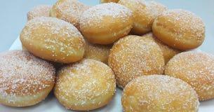 Donuts z cukierem Obraz Stock