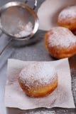 Donuts z czekoladą Zdjęcia Royalty Free