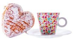 Donuts z kawą Fotografia Stock