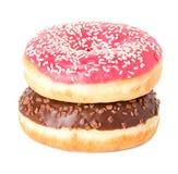Donuts zakończenie Fotografia Royalty Free