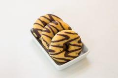 Donutschokolade Lizenzfreie Stockfotografie