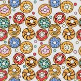 Donutsmodell Arkivbild
